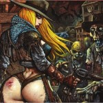 Preview: Fistful of Blood #1 by Eastman & Bisley