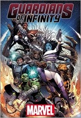 Guardians of Infinity #1 Cover