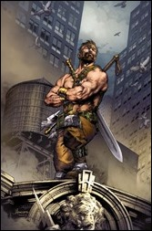 Hercules #1 Cover - Anacleto Variant