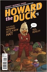 Howard The Duck #1 Cover - Quinones Variant