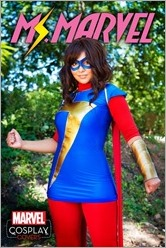 Ms. Marvel #1 Cover - Cosplay Variant