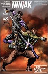 Ninjak #8 Cover A - Suayan