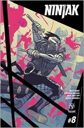 Ninjak #8 Cover - Latour Variant