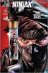 Ninjak #9 Cover A - Suayan