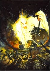 New Avengers #2 Cover - Bisley Kirby Monster Variant