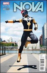 Nova #1 Cover - Cosplay Variant