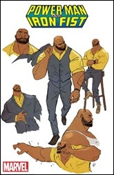 Power Man and Iron First - Power Man Character Sheet by Greene