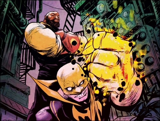Power Man and Iron First