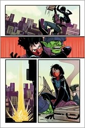 Silk #1 Preview 3