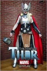 The Mighty Thor #1 Cover - Cosplay Variant