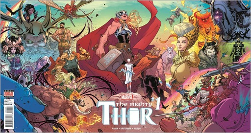 The Mighty Thor #1 Wraparound Gatefold Cover