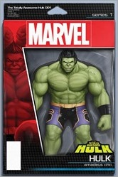 The Totally Awesome Hulk #1 Cover - Christopher Action Figure Variant