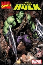 The Totally Awesome Hulk #1 Cover - Keown Marvel '92 Variant
