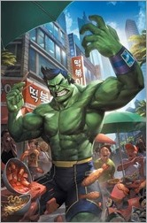 The Totally Awesome Hulk #1 Cover - Lee Variant