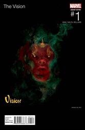 The Vision #1 Cover - Del Rey Hip-Hop Variant