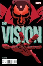 The Vision #1 Cover - Martin Variant