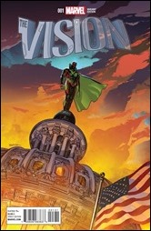 The Vision #1 Cover - Sook Variant