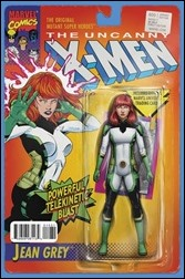 Uncanny X-Men #600 Cover - Christopher Action Figure Variant A