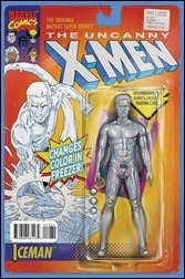 Uncanny X-Men #600 Cover - Christopher Action Figure Variant B