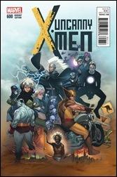 Uncanny X-Men #600 Cover - Coipel Variant