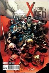 Uncanny X-Men #600 Cover - Yu Variant