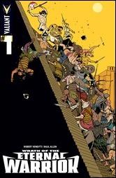 Wrath Of The Eternal Warrior #1 Cover D - Martin