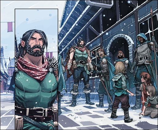 Klaus #1 Interior Art