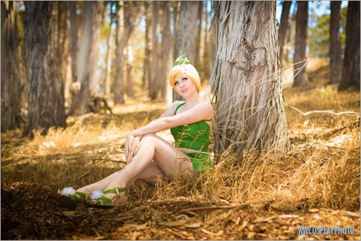 Maid of Might as Tinkerbell swimsuit (Photo by WWCosplay Photo)