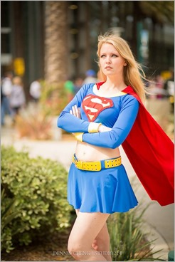 Maid of Might as Supergirl (Photo by Dennis Cheng)