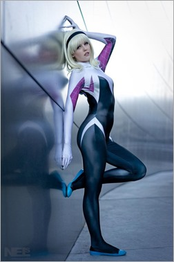Maid of Might as Spider Gwen (Photo by Nelsphotos)
