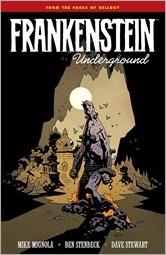 Frankenstein Underground TPB Cover