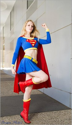 Maid of Might as Supergirl (Photo by Blue Adept Photography)