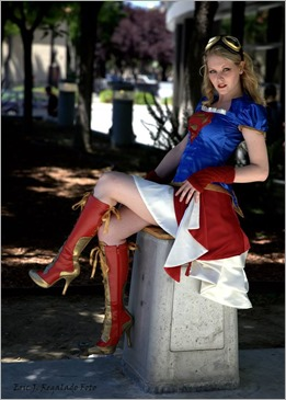 Maid of Might as Steampunk Supergirl (Photo by Eric J. Regalado Foto)