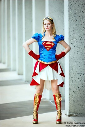 Maid of Might as Steampunk Supergirl (Photo by OscarC Photography)