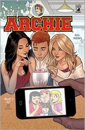 Archie #4 Cover - Renaud Variant