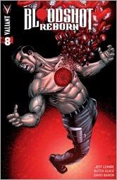 Bloodshot Reborn #8 Cover - Gill Variant