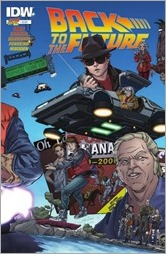 Back to the Future #2 Cover