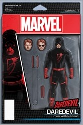 Daredevil #1 Cover - Christopher Action Figure Variant