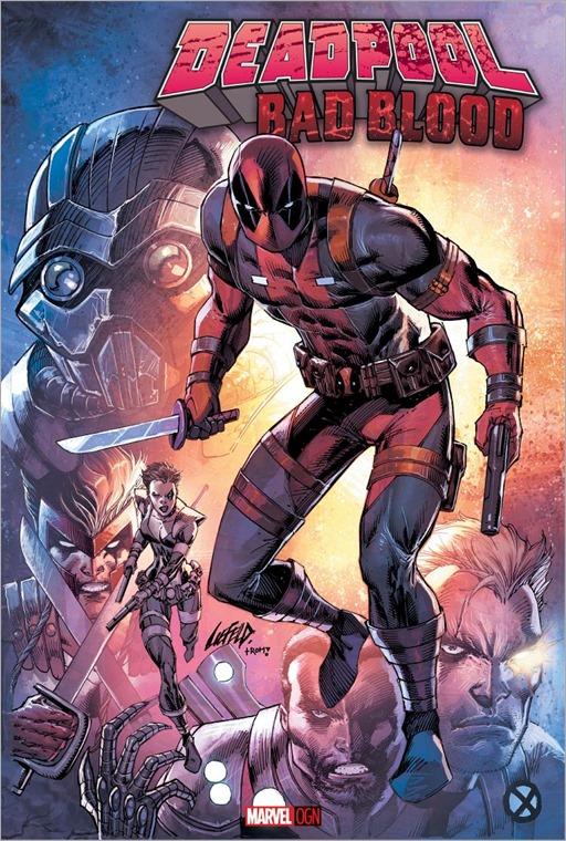 Deadpool: Bad Blood OGN Cover