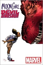 Moon Girl And Devil Dinosaur #1 Cover