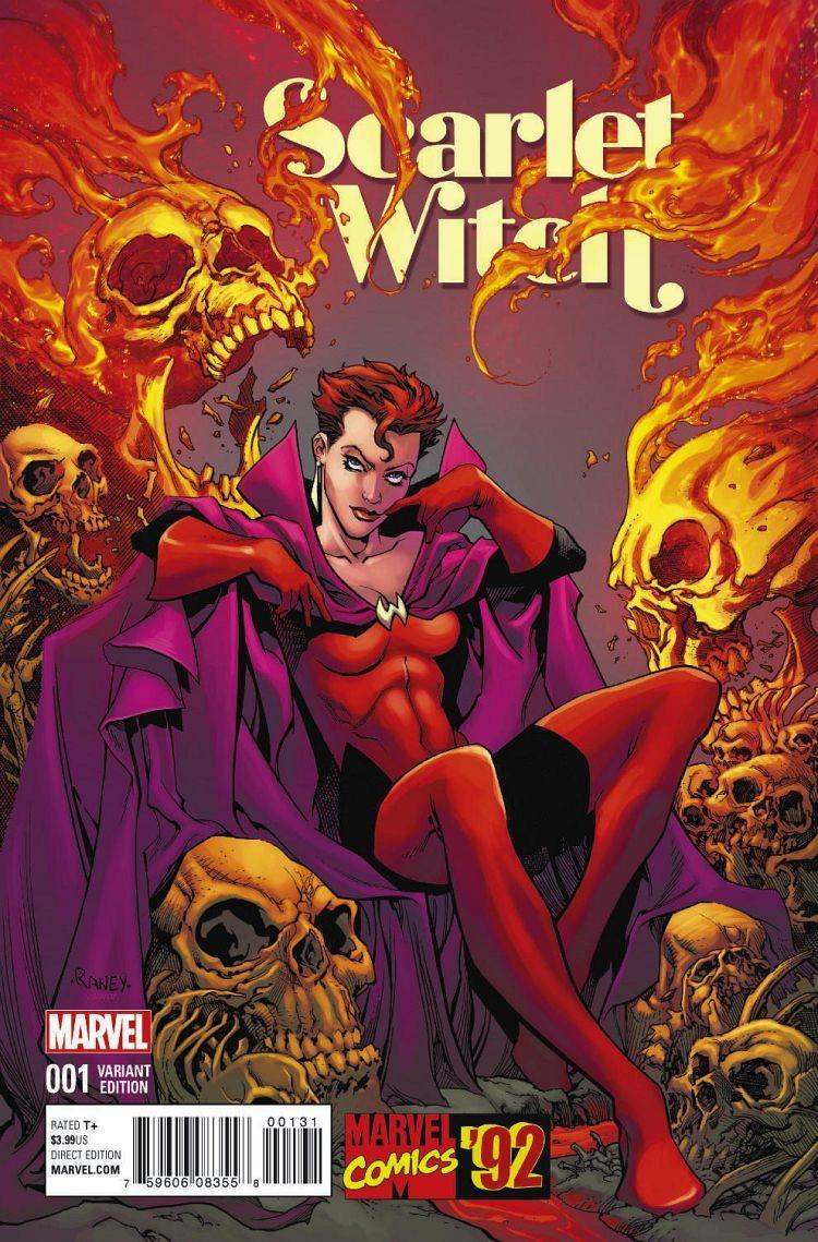 Sneak Peek at Scarlet Witch #1 by Robinson & Del Rey