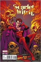 Scarlet Witch #1 Cover - Raney Marvel '92 Variant