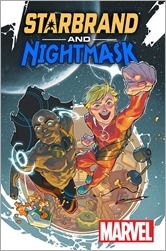Starbrand & Nightmask #1 Cover