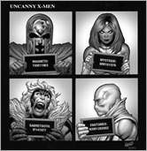 Uncanny X-Men #1 Cover - Land Hip-Hop Variant