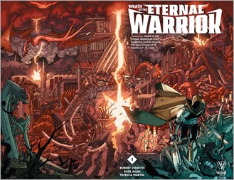 Wrath of the Eternal Warrior #1 Cover A - Lafuente