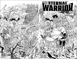 Wrath of the Eternal Warrior #1 Cover - Lafuente Variant