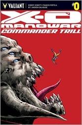 X-O Manowar: Commander Trill #0 Cover A - Jimenez