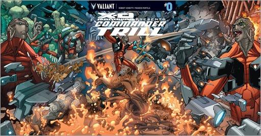 X-O Manowar: Commander Trill #0 Cover - Lafuente Variant