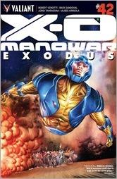 X-O Manowar #42 Cover A - Sandoval
