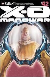 X-O Manowar #42 Cover - Barrionuevo Variant